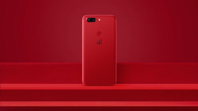 one plus 5t rosso